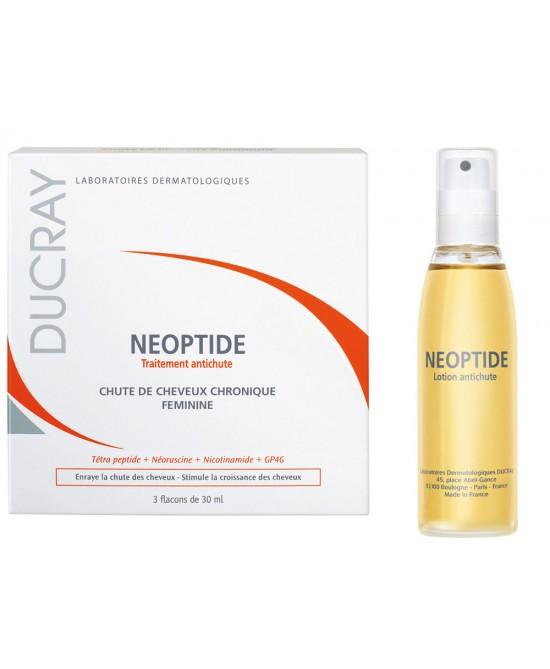 Ducray Neoptide Trattamento Anticaduta Fortificante Capelli Donna 3 Flaconcini da 30 ml - La tua farmacia online