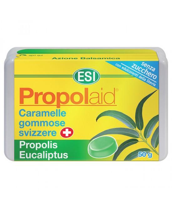 Esi Propolaid Caramelle Gommose Svizzere + Propolis Eucaliptus Senza  Zucchero 50g - Farmastar.it