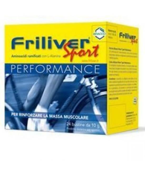 Bracco Friliver Sport Performance 24 Bustine Da 10gr - Farmamille