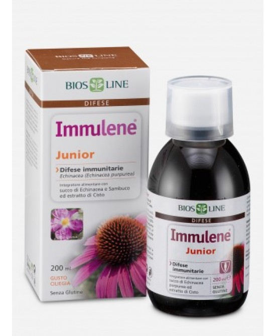 Bios Line Immulene Junior Integratore Alimentare 200ml - Farmastar.it
