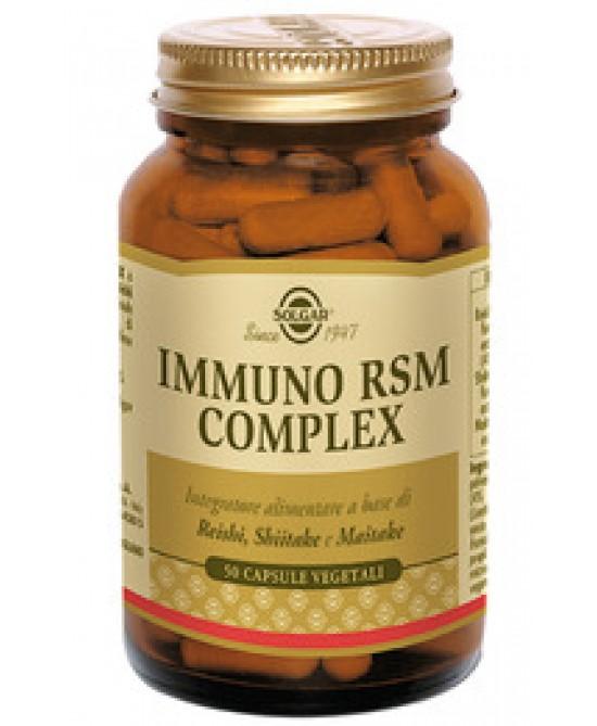 Solgar Immuno Rsm Complex 50 Capsule Vegetali - Farmacia 33