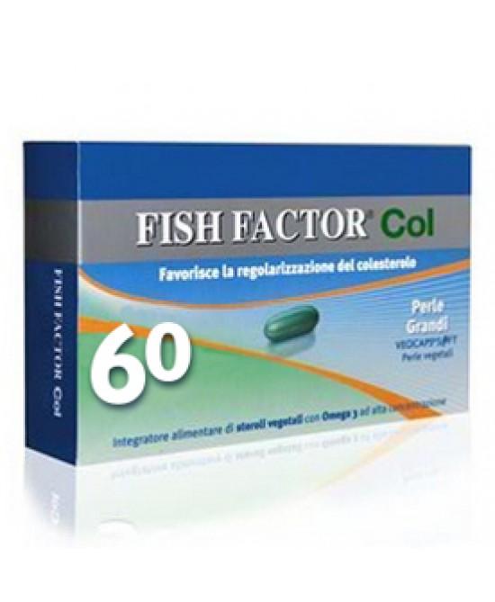 Fish Factor Col Integratore Alimentare 60 Perle Grandi - Zfarmacia