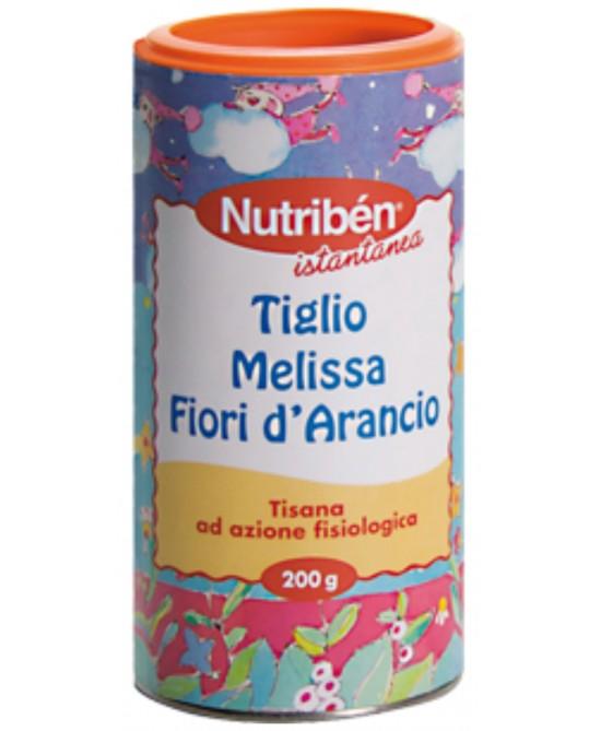 Nutribén Tisana Istantanea Al Tiglio Melissa E Fiori D'Arancio 200g - FARMAEMPORIO
