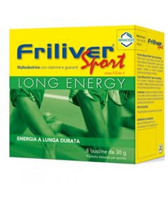 Friliver Sport Long Energy 8 Bustine Da 30g - Farmamille