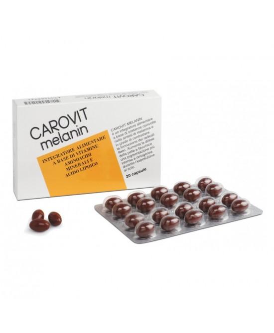 Carovit Melanin 20 Capsule - Farmalilla