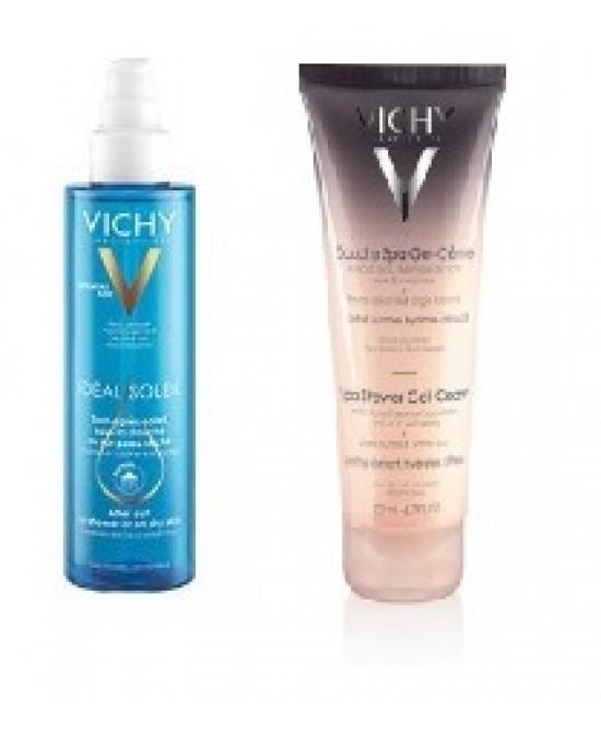 Vichy Ideal Soleil Doposole Doccia 200ml + Gel Crema 200ml Promo - Farmacia 33