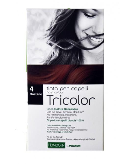 Specchiasol Tricolor Tinta Per Capelli - Castano 4 - La tua farmacia online