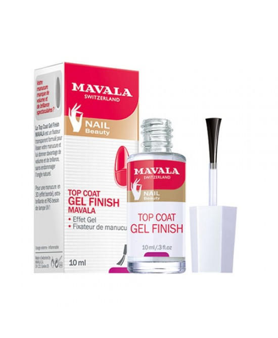 Mavala Top Coat Gel Finish 10ml - Farmacia 33
