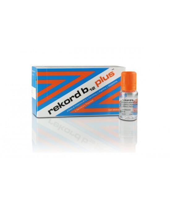 Rekord B12 Plus 10 Flaconcini Integratore Alimentare 10ml - Antica Farmacia Del Lago