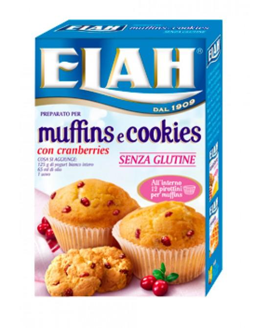 Elah Preparato Per Muffins E Cookies Senza Glutine 15 Pirottini - FARMAEMPORIO
