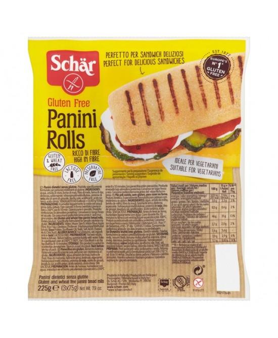 Schar Panini Rolls Senza Glutine 3x75g - Farmacia 33