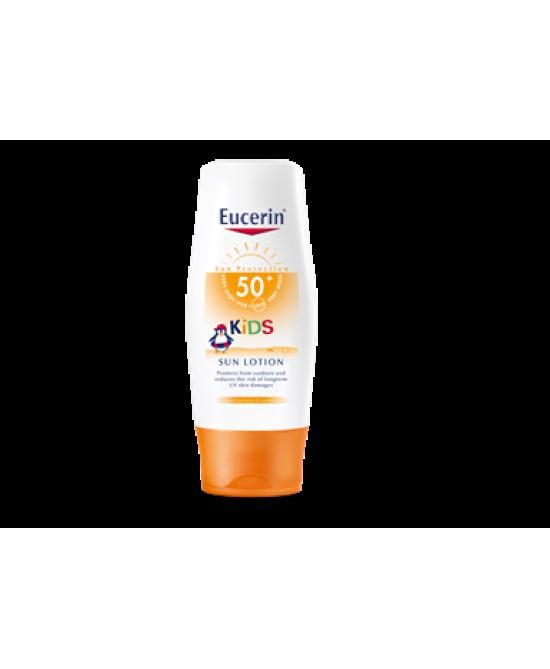 Eucerin Kids Sun Lotion SPF50+ Protezione Solare Bambini  200ml - FARMAEMPORIO