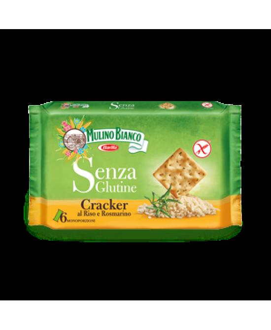 Mulino Bianco Cracker Al Riso E Rosmarino Senza Glutine 6 Monoporzioni Da 8 Cracker Ciascuna 200g - FARMAPRIME