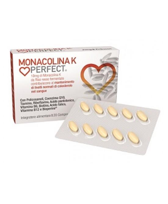 Monacolina K Perfect Integratore Alimentare 20 Compresse - FARMAEMPORIO