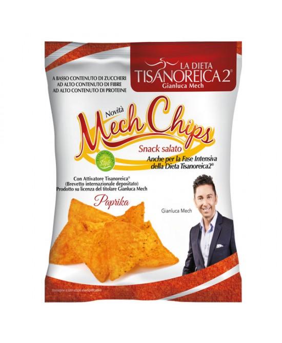 Tisanoreica Style Mech-Chips al gusto Paprika 25gr - La tua farmacia online