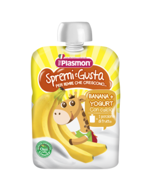 Plasmon Spremi E Gusta Banana E Yogurt 85g - farma-store.it