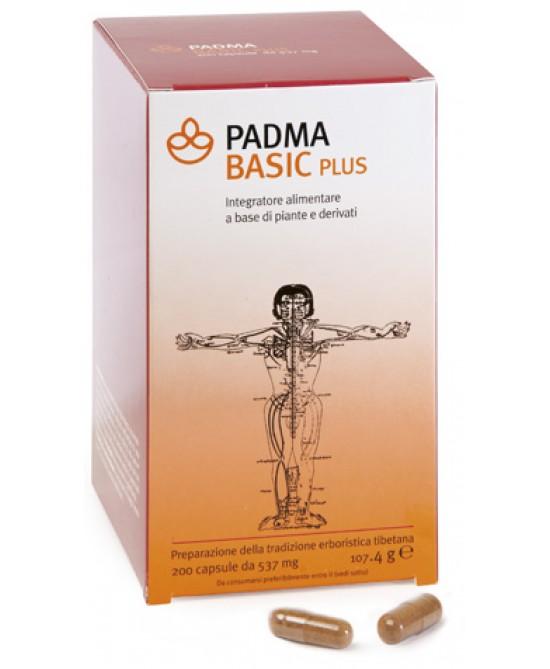 Padma Basic Plus Integratore Alimentare 200 Capsule - Farmastar.it
