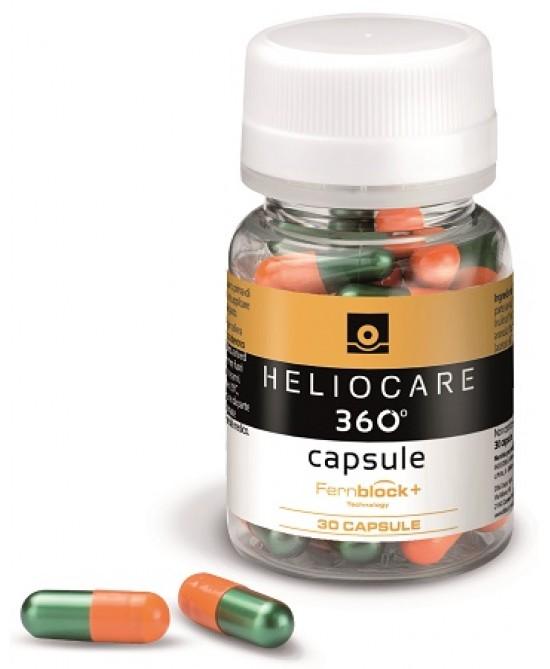 Heliocare 360 Oral Integratore Alimentare 30 Capsule - Farmacento