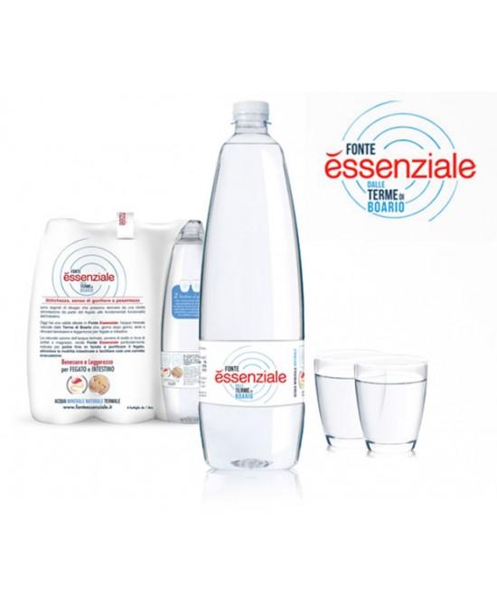 Fonte Essenziale Acqua Minerale Naturale Di Origine Termale In Confezione Pet 6x400ml - Farmastar.it