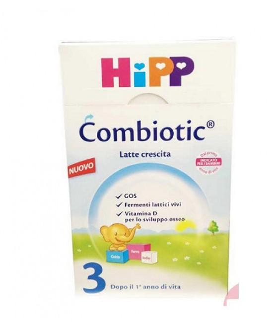 Hipp Combiotic 3 Latte In Polvere Biologico 600g - Farmacia 33
