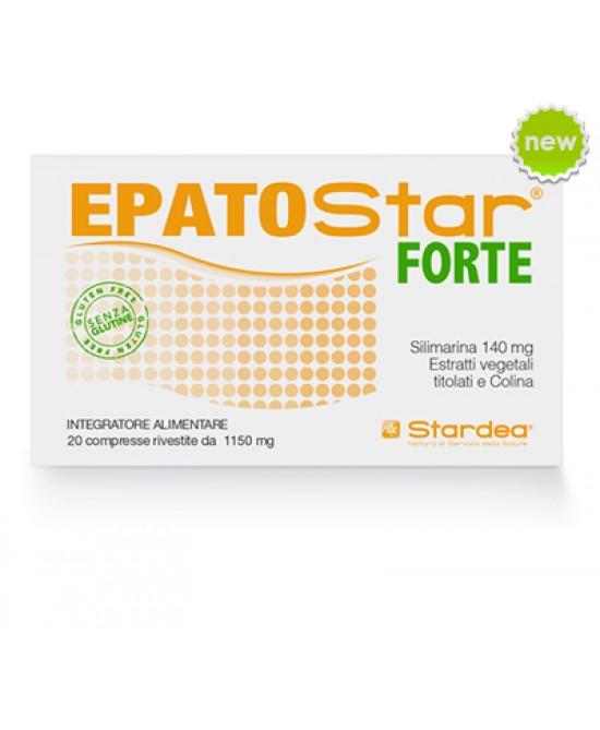 EpatoStar Forte 1150mg Integratorte Alimentare 20 Compresse Rivestite - Farmastar.it
