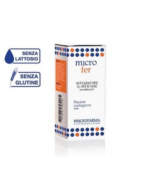 Microfarma Microfer Acido Folico Gocce 15ml - Farmacento
