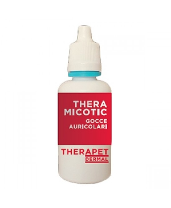 Therapet Derma Theramicotic Gocce Auricolari 25ml - FARMAEMPORIO