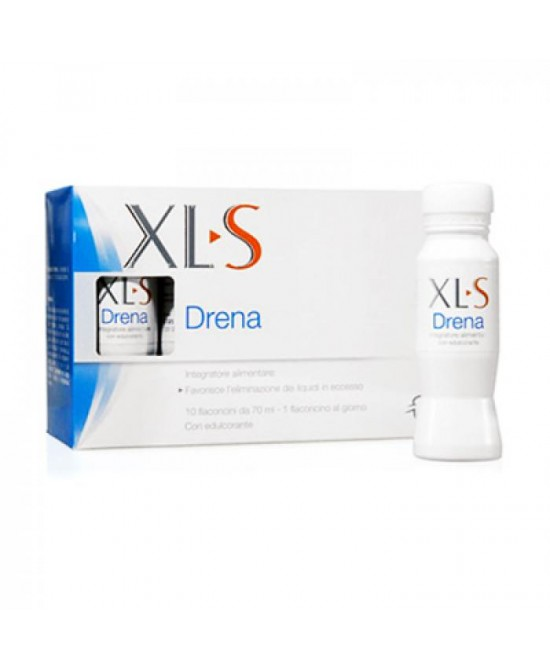 XLS Drena Integratore Alimentare 10 Flaconcini Linea Controllo del Peso - La tua farmacia online