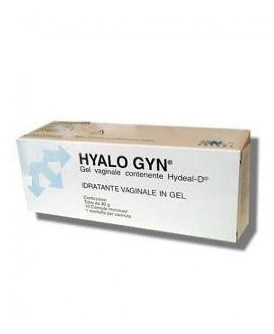 HYALO GYN GEL IDRATANTE VAGINALE 30 G SENZA PARABENI - Farmacento