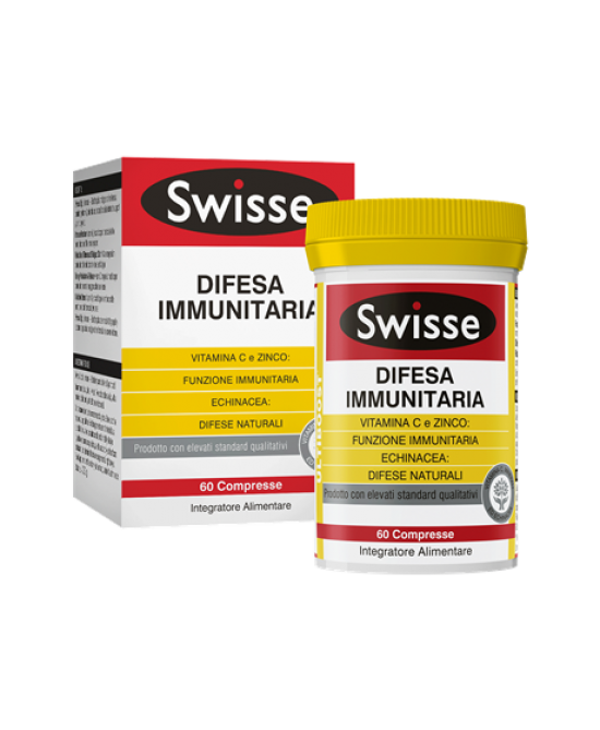Swisse Difesa Immunitaria Integratore Alimentare 60 Compresse - Zfarmacia