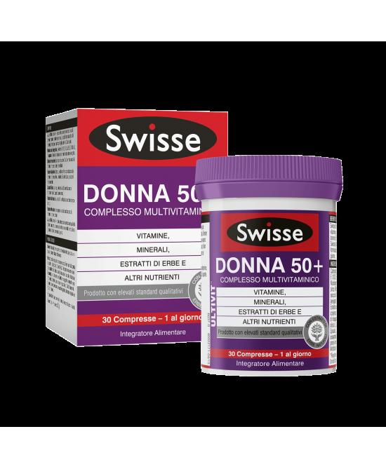Swisse Donna 50+ Multivitaminico 30 Compresse - Zfarmacia