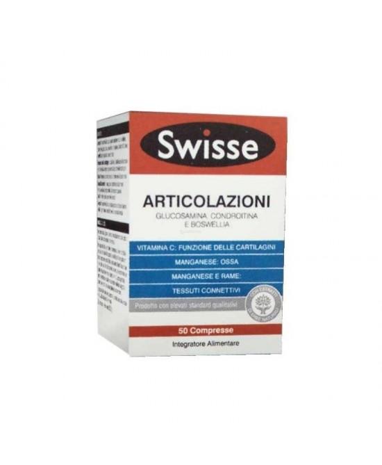 Swisse Articolazioni Integratore Alimentare 50 Compresse - Zfarmacia