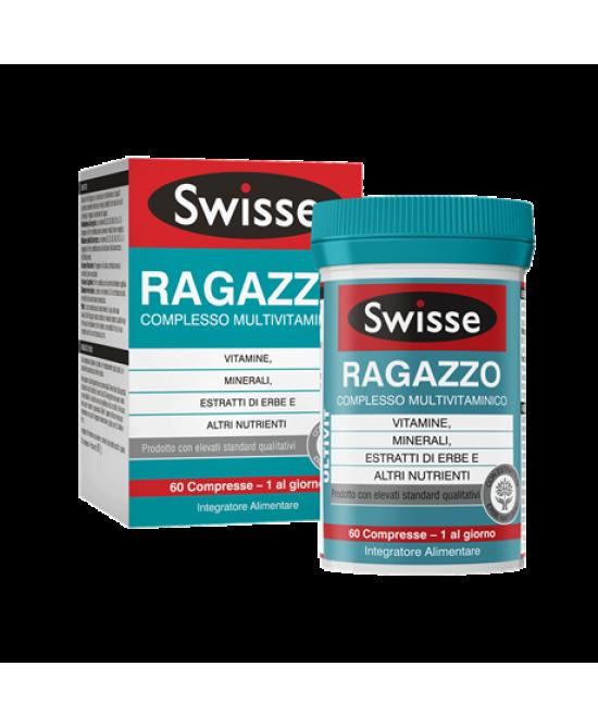 SWISSE MultiVitaminico Ragazzo 60 Cpr ( scadenza 12/2019) - Zfarmacia