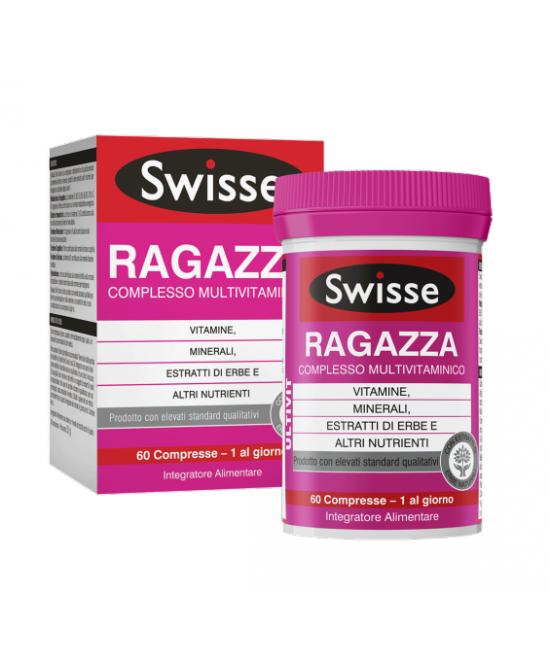 Swisse Ragazza Multivitaminico Integratore Alimentare 60 Compresse - Zfarmacia