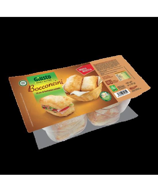 Giusto Bocconcini Pane Senza Glutine 160g - FARMAPRIME