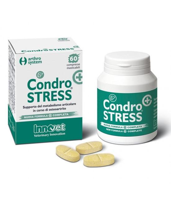 InnoVet Condrostress+  Integratore Alimentare Per Cani 90 Compresse Masticabili - farma-store.it