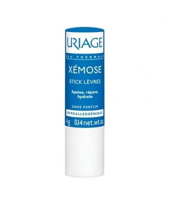Uriage Xemose Stick Idratante Labbra 4g - Farmamille