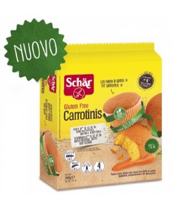 Schar Carrotinis Merendine Senza Glutine 200g - Zfarmacia