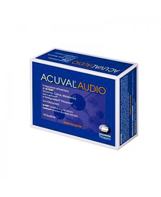 Acuval Audio Integratore Alimentare 14 Bustine - Farmawing