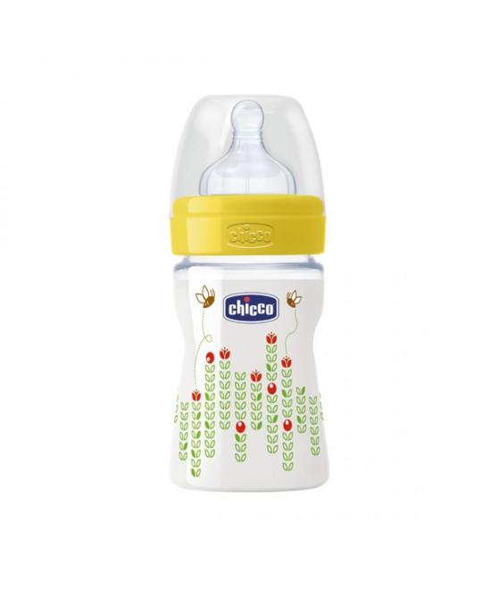 Chicco Biberon Benessere Polipropilene E Silicone Unisex  +0Mesi 150ml - farma-store.it