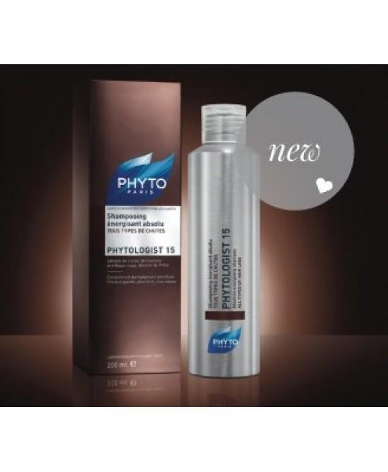 Phyto Phytologist 15 Shampoo Energizzante Assoluto 200ml - Farmacia 33