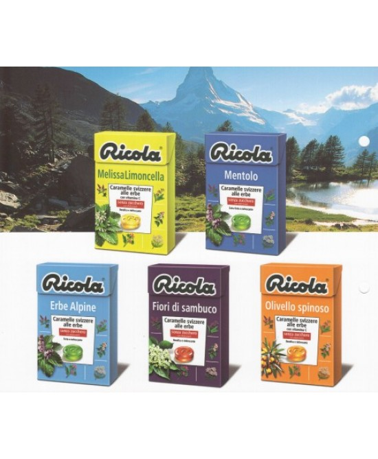 Ricola Erbe Alpine Senza Zucchero 50g - FARMAEMPORIO