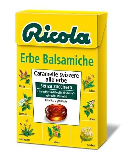 Ricola Erbe Balsamiche Caramelle Senza Zucchero 50g - FARMAEMPORIO
