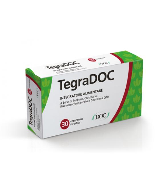 TegraDOC Integratore Alimentare 30 Compresse Rivestite - Zfarmacia