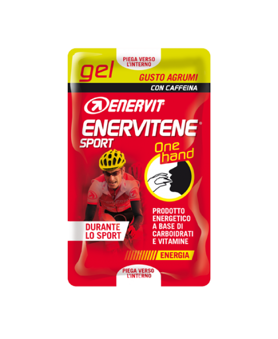 Enervit Enervitene Sport Gel One Hand Gusto Agrumi  2 bustine da 12,5 ml - La tua farmacia online