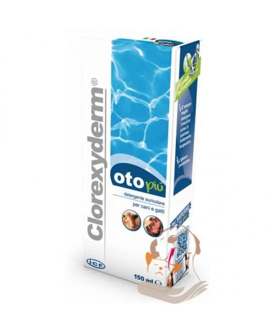 Clorexyderm Oto Più Detergente Auricolare Per Cani E Gatti 150ml - La tua farmacia online