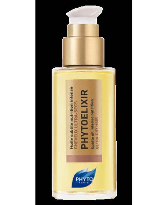 Phyto Phytoelixir Huile Subtile Olio Nutriente Per Capelli Secchi 75ml - Farmacia 33