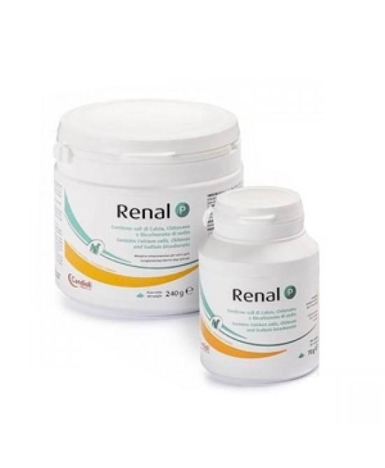 RENAL P MANGIME COMPLEMENTARE PER CANI E GATTI 70 G - La tua farmacia online