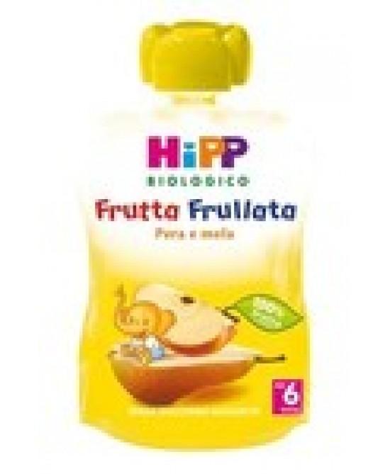 Hipp Biologico Frutta Frullata Pera E Mela 90g - Farmamille