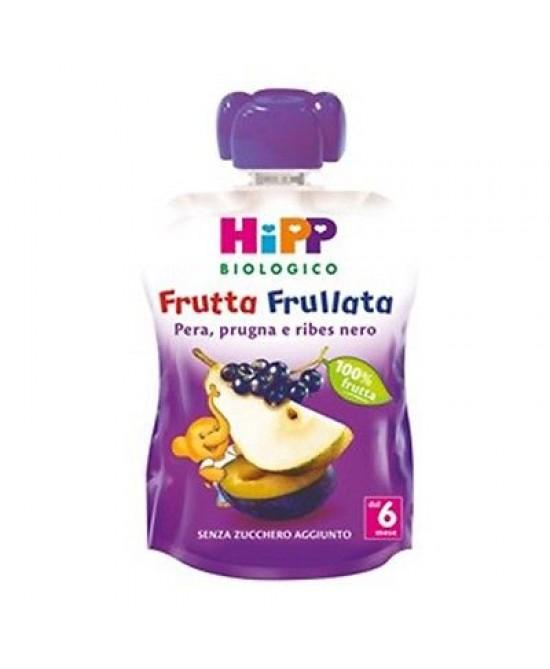 Hipp Bio Frutta Frullata Pera Prugra E Ribes Nero 90g - Farmamille
